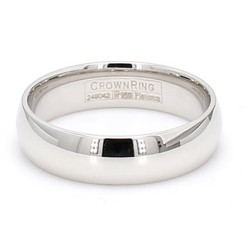6mm Platinum Wedding Band