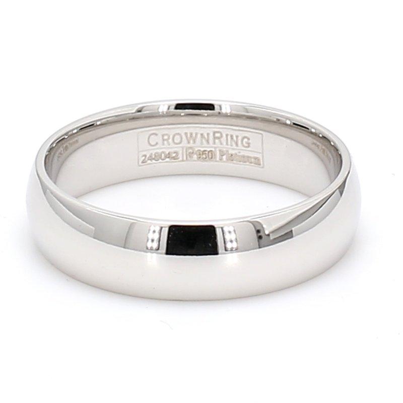 CrownRing 6mm Platinum Wedding Band