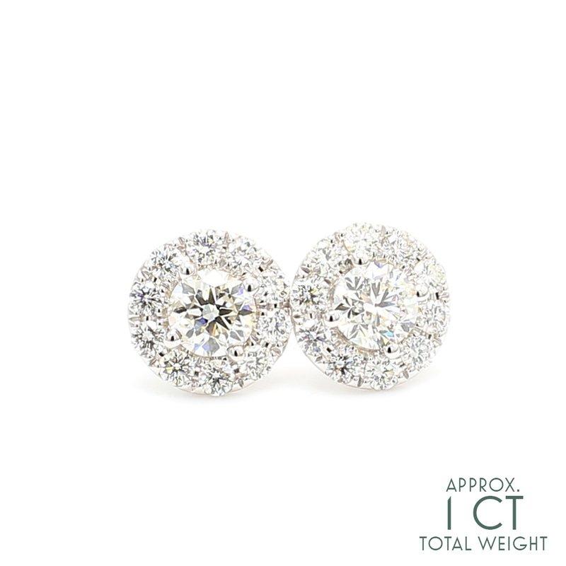 Everyday Diamonds Diamond Stud Earrings
