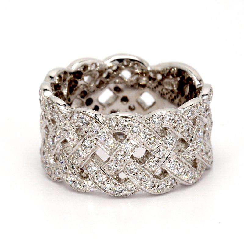 Spicer Greene Diamond Weave Ring