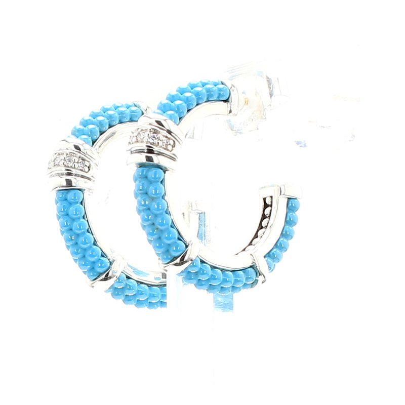 Lagos Diamond Hoop Earrings