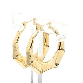 Yellow Gold Hoop Earrings