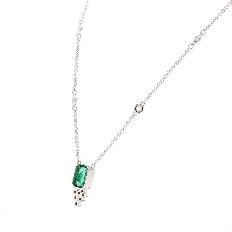 Color by Spicer Greene Emerald Fashion Pendant