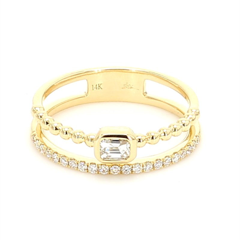 Spicer Greene Diamond Multi-Row Ring