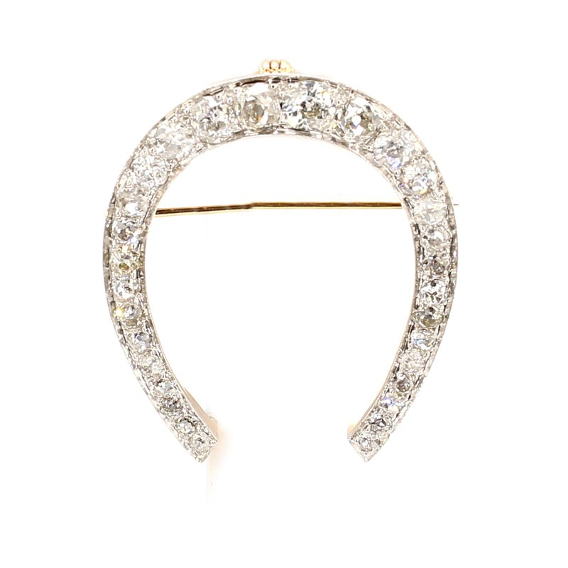 Estate Diamond Convertible Pendant/Brooch