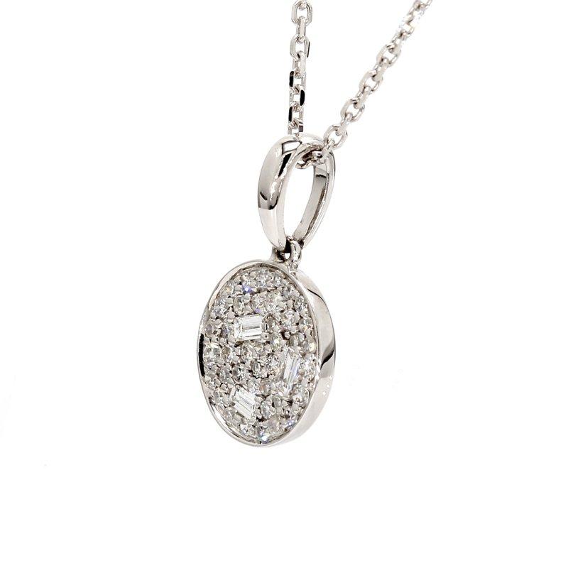 Spicer Greene Diamond Circle Pendant