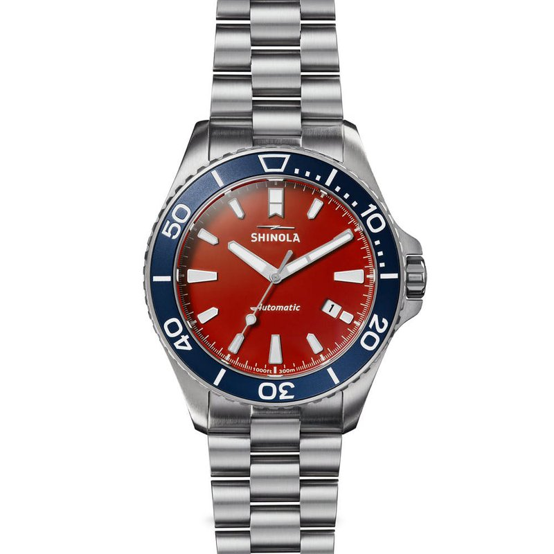Pre-Owned Watches Shinola Harbor Monster 43mm