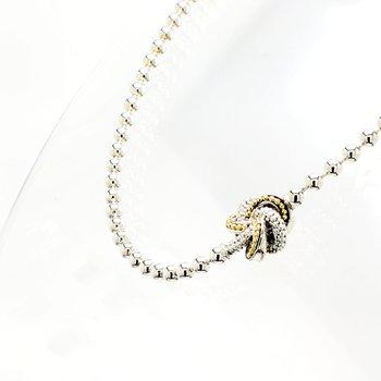 Love Knot Station Necklace