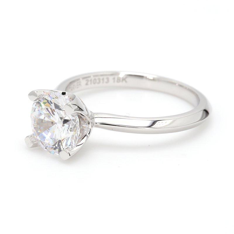 Noam Carver 18 Karat Gold Engagement Ring Mounting