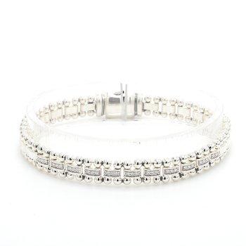 Diamond Caviar Bracelet