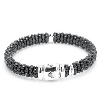 Diamond Black Caviar Bracelet