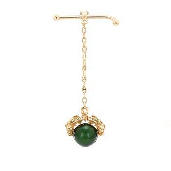 Convertible pendant / brooch Gold Pendant