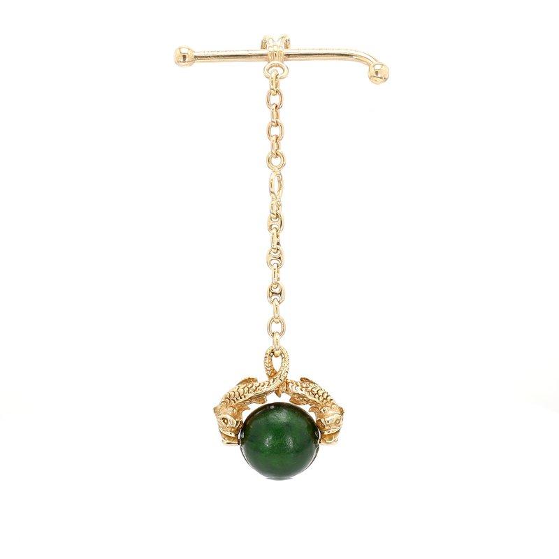 Estate Convertible pendant / brooch Gold Pendant