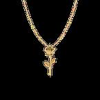 Spicer Greene Rose Pendant (18k Gold)