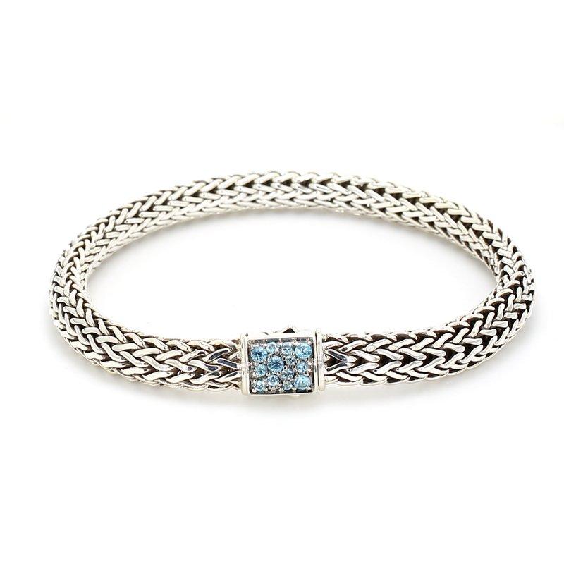 John Hardy Topaz Chain Bracelet
