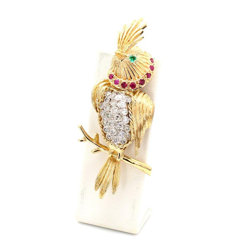 Estate Bird Pin