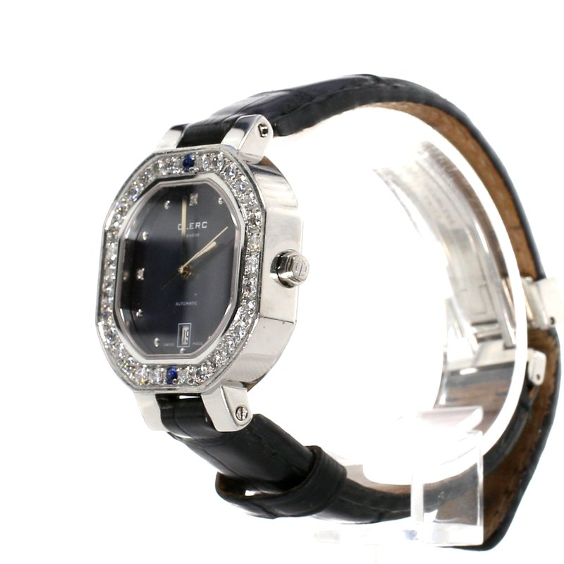 Pre-Owned Watches Diamond Bezel Clerc