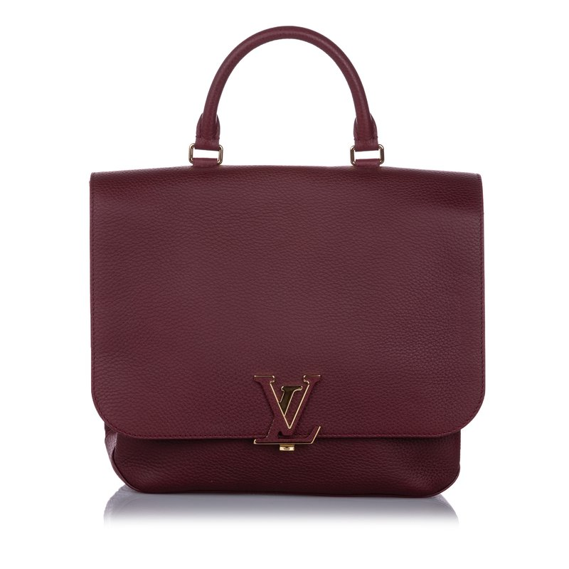 Pre-Owned Luxury Handbags Louis Vuitton Red Taurillon Volta