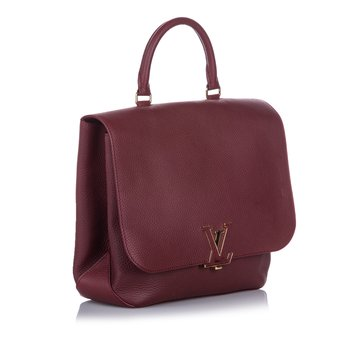 Louis Vuitton Red Taurillon Volta