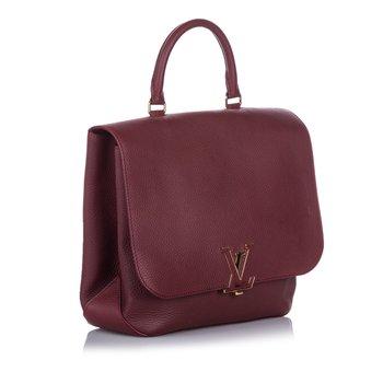 Louis Vuitton Red Taurillon Volta