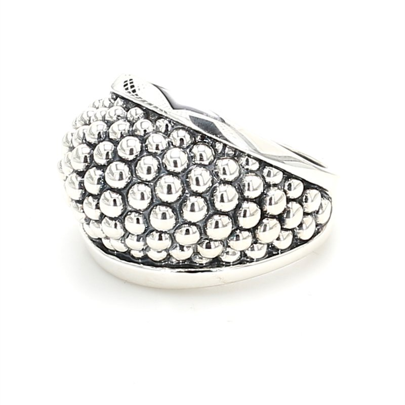Lagos Silver Dome Ring