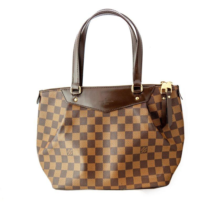 Pre-Owned Luxury Handbags Louis Vuitton Westminster Damier Ebene PM