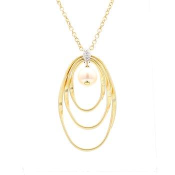 Marrakech Onde Diamond Necklace