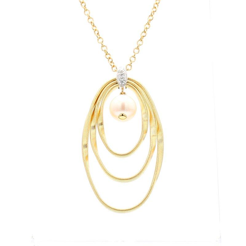 Marco Bicego Marrakech Onde Diamond Necklace