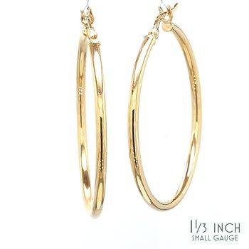 1.3in Hoop Earrings