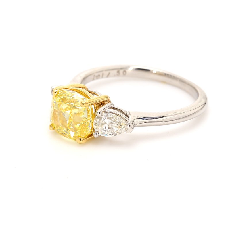 Spicer Greene Diamond 3 Stone Ring
