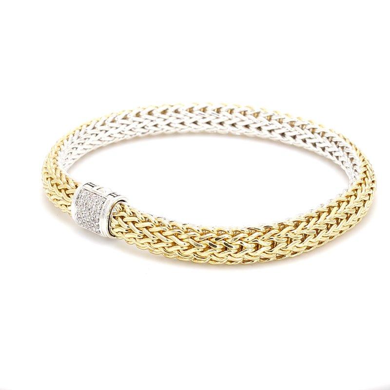John Hardy Silver & Gold Bracelet