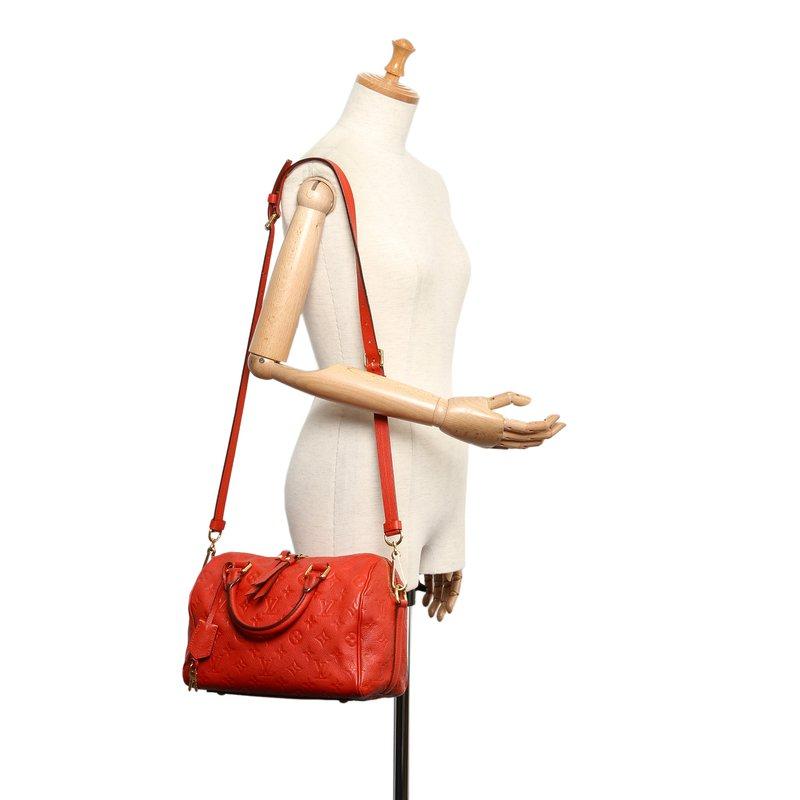 Pre-Owned Luxury Handbags Louis Vuitton Empreinte Speedy 30