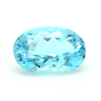 One Oval Paraiba Tourmaline Lo