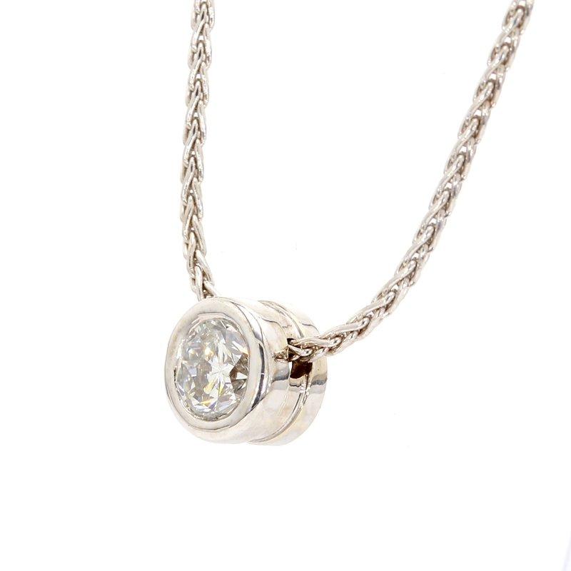 Spicer Greene Diamond Solitaire Pendant