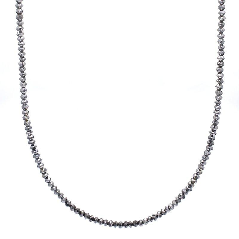 Spicer Greene Diamond Beaded Necklace