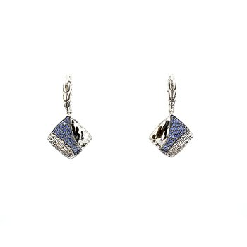 Sapphire Drop Earrings