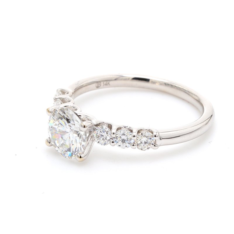Spicer Greene 7 Stone Engagement Ring