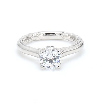 Solitaire Semi Mount Engagement Ring