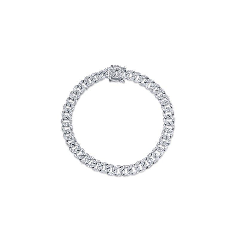 Spicer Greene Diamond Fancy Link Bracelet