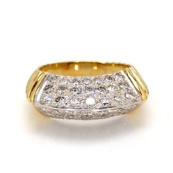 Diamond Straight Ring