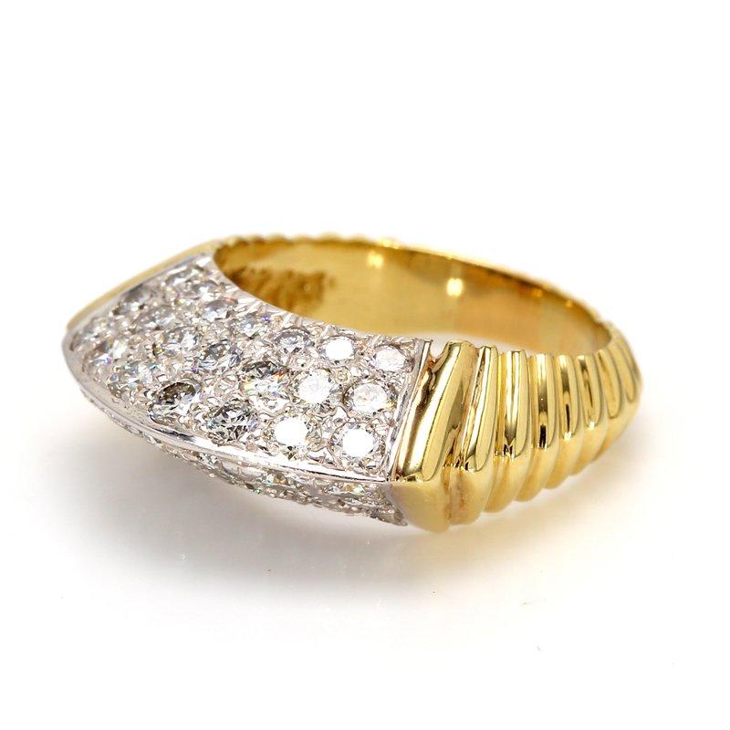 Estate Diamond Straight Ring