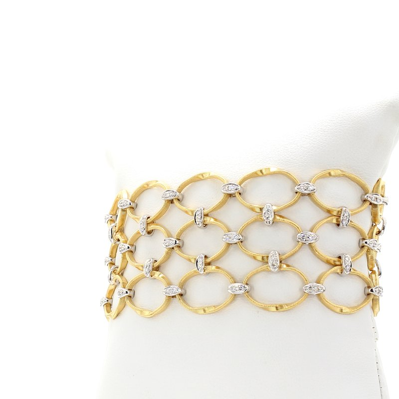 Marco Bicego Marrakech Onde Diamond Bracelet