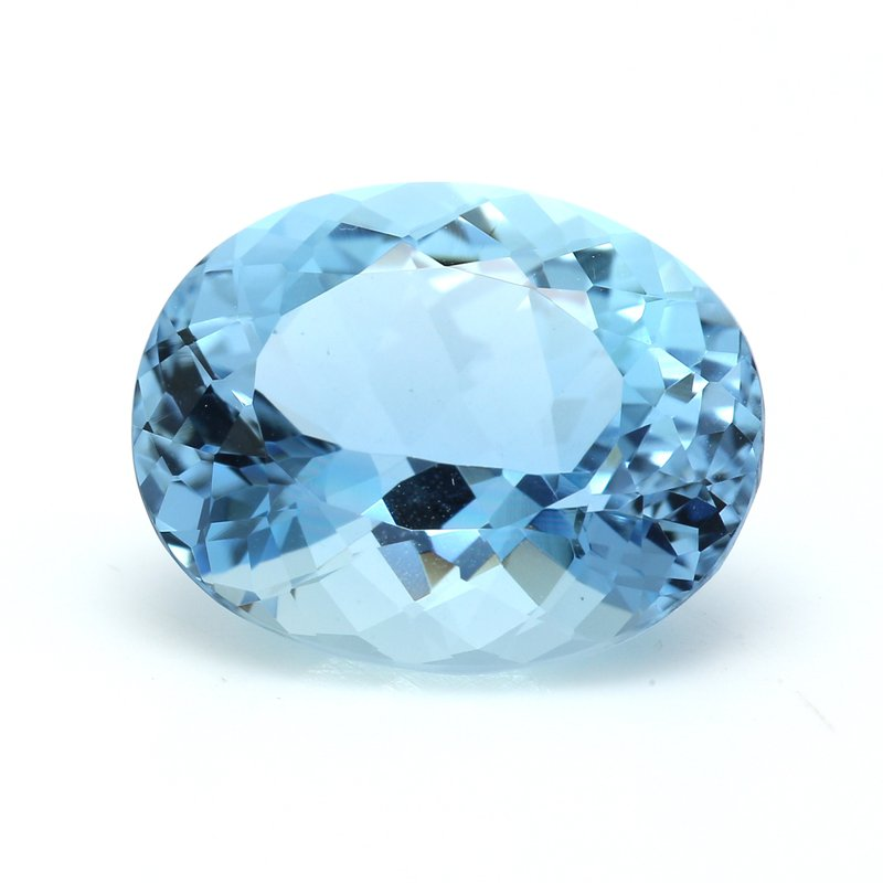 Color by Spicer Greene Loose 5.01ct Aquamarine