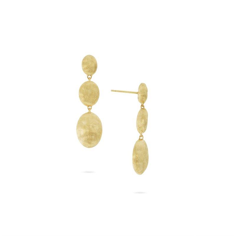 Marco Bicego Siviglia Yellow Gold Drop Earrings
