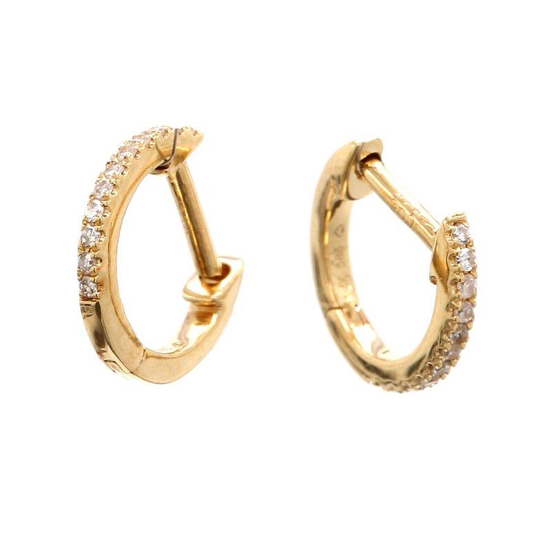 Spicer Greene Diamond Huggie Earrings