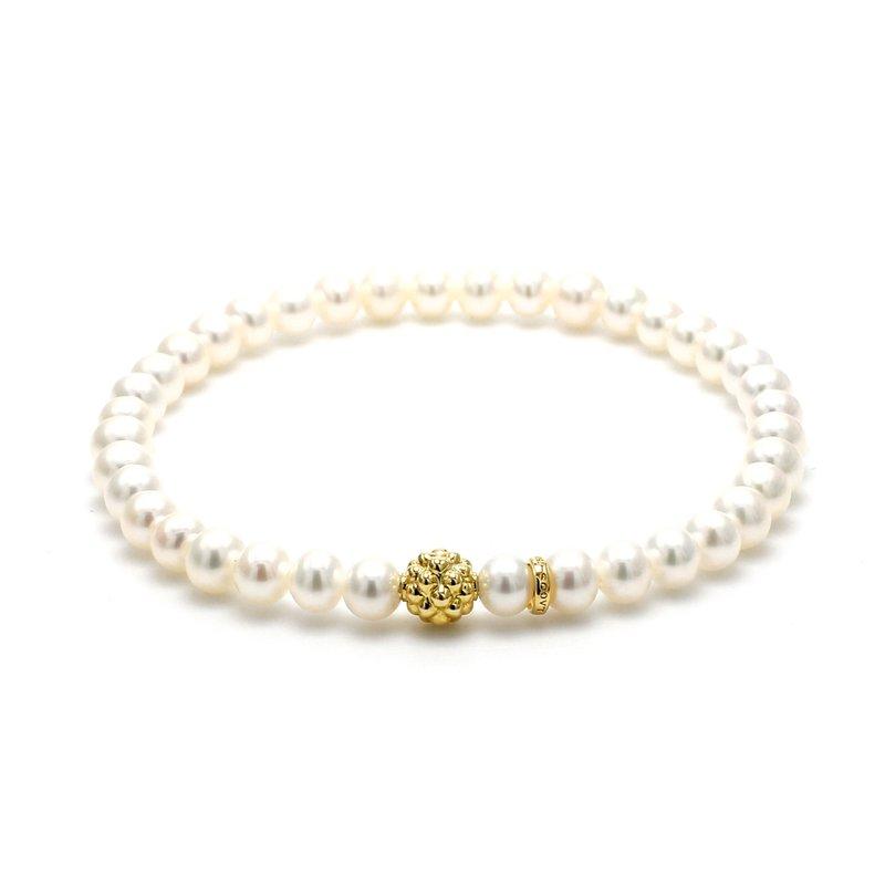 Lagos Freshwater Pearl Beaded Bracelet