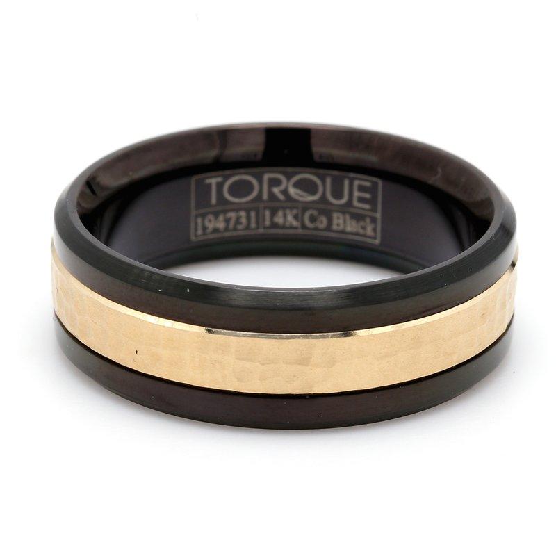 Torque Cobalt & Gold Wedding Band