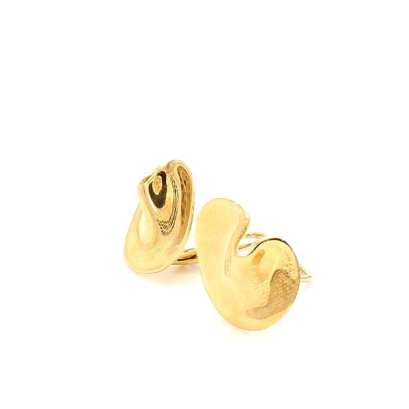 Estate Yellow Gold Stud Earrings