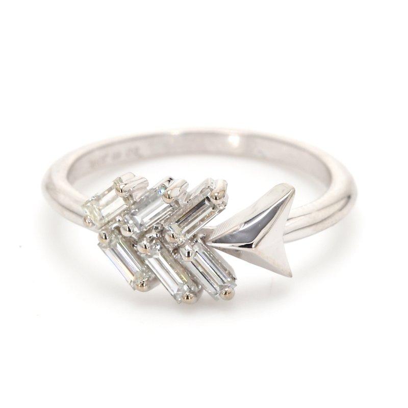 Spicer Greene Diamond Cluster Ring