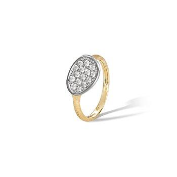 Lunaria Diamond Cluster Ring